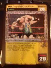 WWE Raw Deal CCG Drop Over the Ropes MINT