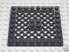 Lego Black Plate 8 x 8 with Grille lg68