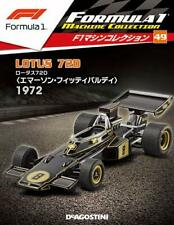 DeAGOSTINI F1 collection Vol.49 Lotus 720 Emerson Fittipaldi 1972 1/43 model