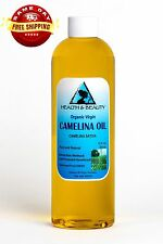 CAMELINA OIL UNREFINED ORGANIC VIRGIN COLD PRESSED RAW PREMIUM FRESH PURE 12 OZ