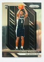 2018-19 Panini Prizm Lonnie Walker IV RC #251, Spurs Rookie!