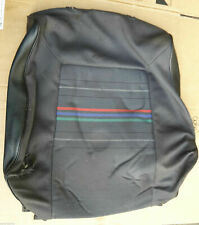 VW GOLF JETTA MK2 GTI RAINBOW INTERIOR FRONT SEAT BACKREST CLOTH MATERIAL COVER