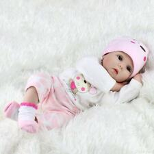 22'' Lifelike Newborn Silicone Vinyl Reborn Gift Baby Handmade Reborn Dolls USA