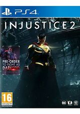 Injustice 2 Includes DARK SHIELD DLC PS4 Game New & Sealed Aussie Seller A++++