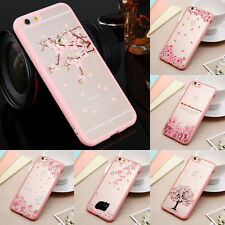 Crystal Clear Hard Back Phone Case Hybrid Shockproof Soft Silicone Bumper Cover