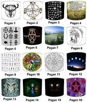 Lampshades Ideal To Match Medieval Stonehenge Pagans Gothic Wicca Cushion Covers