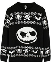 The Nightmare Before Christmas Jack Skellington Knitted Jumper