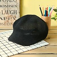 Ladies Summer Straw Sun Cap Knit Breathable Hats Fashion Leisure Visor For Women