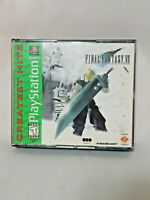 Final Fantasy VII GH (Sony Playstation 1 PS1, 1997) Complete With Manual VGC