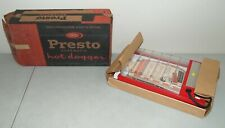 "New! Sealed! Vtg PRESTO Electric ""HOT DOGGER"" Hot Dog Cooker /Made USA"
