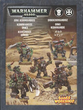 Games Workshop Warhammer 40k Ork Kommandos Squad BNIB Metal Figures Orks Army