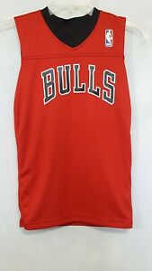 Chicago Bulls jersey Derrick Rose #1 Reversible Red Black Youth S