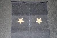 1950's Vintage USN Navy Line Officer's Cuff Star Insignia PAIR Bullion Italy VF
