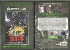 Godzilla 1984: The Return of Godzilla (DVD, 2016) BRAND NEW AND SEALED