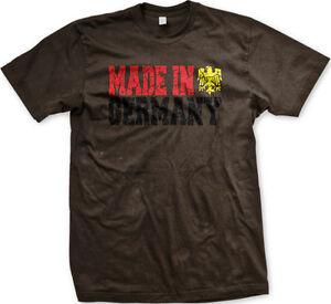 Made In Germany Reichsadler Imperial Eagle Deustchland German Pride Mens T-shirt