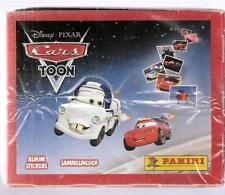 Cars Toon Disney Box 50 Bustine Figurine Panini