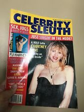 Courtney Love magazine rare cleavage queen oops hot!!! Hot!!