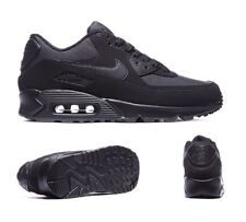 UNWANTED GIFT MENS NIKE AIR MAX 90 ESSENTIAL TRIPLE BLACK UK SIZE 9