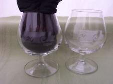 MONTREAL EXPOS 20th ANNIVERSARY MLB COGNAC BRANDY GLASS GLASSES LOT 2 baseball