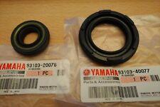 Genuine YAMAHA RD250 RD400 Crank Seals 93103-40077 93103-20076