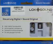 "ESU 58810 LokSound 5 micro DCC/MM/SX/M4 ""Leerdecoder"", 8-pin NEM652"