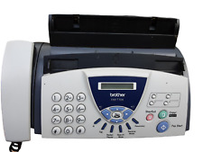 More details for brother fax-t104 fax machine/telephone- working.