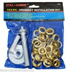 103pc GROMMET REPAIR KIT TARP CANOPY AWNINGS TENTS REPLACEMENT INSTALLATION TOOL