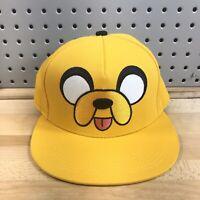 Jake The Dog Adventure Time Yellow Character Hat Cartoon Network CN EUC Cap