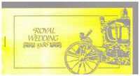 S22867) Montserrat 1986 Royal Wedding Sarah & Andrew Booklet