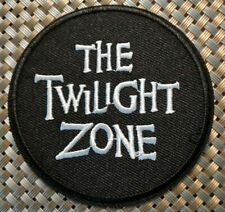 Twilight Zone (tv show) Embroidered Patch Iron-On Sew-On Us shipping