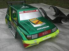 FG  Pajero Karosserie mit Wanne für Marder Chassis, Truck, Karosse 1:5