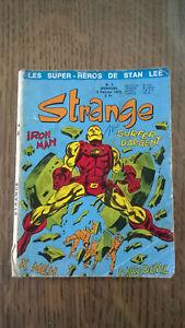 STRANGE N°2 LUG 1970 LIRE DESCRIPTIF