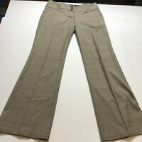 The Limited Drew Fit Brown Dress Pants Size 10 A2098
