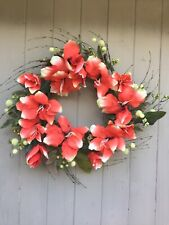 LARGE Silk Floral Wreath ~Home Door Decor