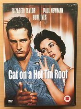 Paul Newman CAT ON A HOT TIN ROOF ~ 1958 Tennessee Williams Classic UK DVD