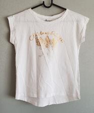BNWT Girls Sz 9 Target Brand Short Sleeve Cute Christmas Reindeer Print Top