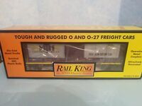 Rail King By MTH 30-74223 MTHRRX-2005 Rounded Roof Boxcar w/Generator O O-27