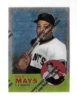 1997 TOPPS 1963 TOPPS WILLIE MAYS #17 FINEST REPRINT
