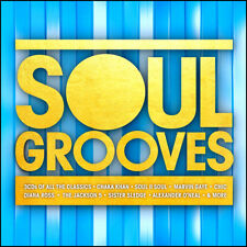 SOUL GROOVES * 58 Greatest R&B / Soul Hits * NEW 3-CD Boxset * All Original Hits