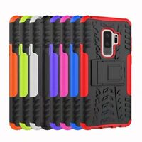 Shockproof Rugged Hybrid Armor Kickstand Case Cover For Samsung Galaxy S9 Plus