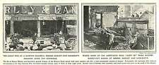1910 Great Fire At Brixton Drapers, Morley And Lanceley