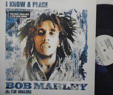 """BOB MARLEY & THE WAILERS - I Know A Place  ~ 12"""" Single PS"""