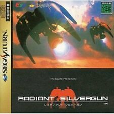 USED Radiant Silvergun [Japan Import] Sega Saturn Free Shipping!