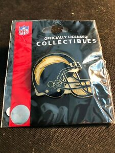 NEW Throwback Los Angeles Chargers Football Helmet Logo Pin - San Diego Vintage