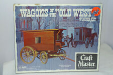 "Wagons Of The ""Old West"" JAIL WAGON Wooden Kit by Craft Master...NEW"