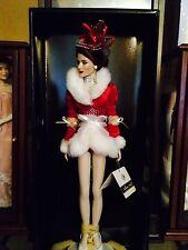 Rare Franklin Mint Rockettes City Christmas Vinyl Doll. Mint, NRFB with COA.