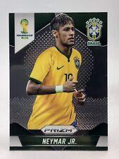 Neymar Jr Brasil Brazil 2014 Panini Prizm World Cup Soccer RC Rookie Card #112