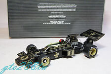Quartzo 1:18 Lotus 72D JPS F1 1972 British GP Winner #8 *w/Firestone tire marks!