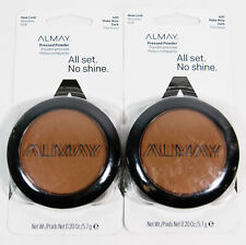 2 Almay Pressed Powder All Set No Shine #600 MAKE MINE DARK