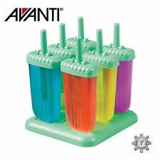 AVANTI Frozen Groovy Ice Block Moulds 6 Piece Set BPA Free